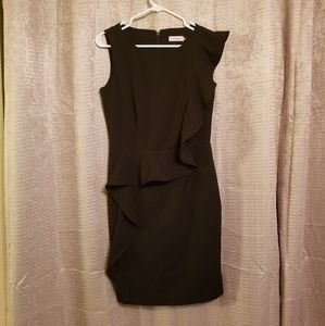 Calvin Klein Black Women's Work Dress